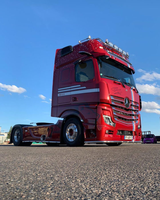 Camion Hommage Patrick Folleas